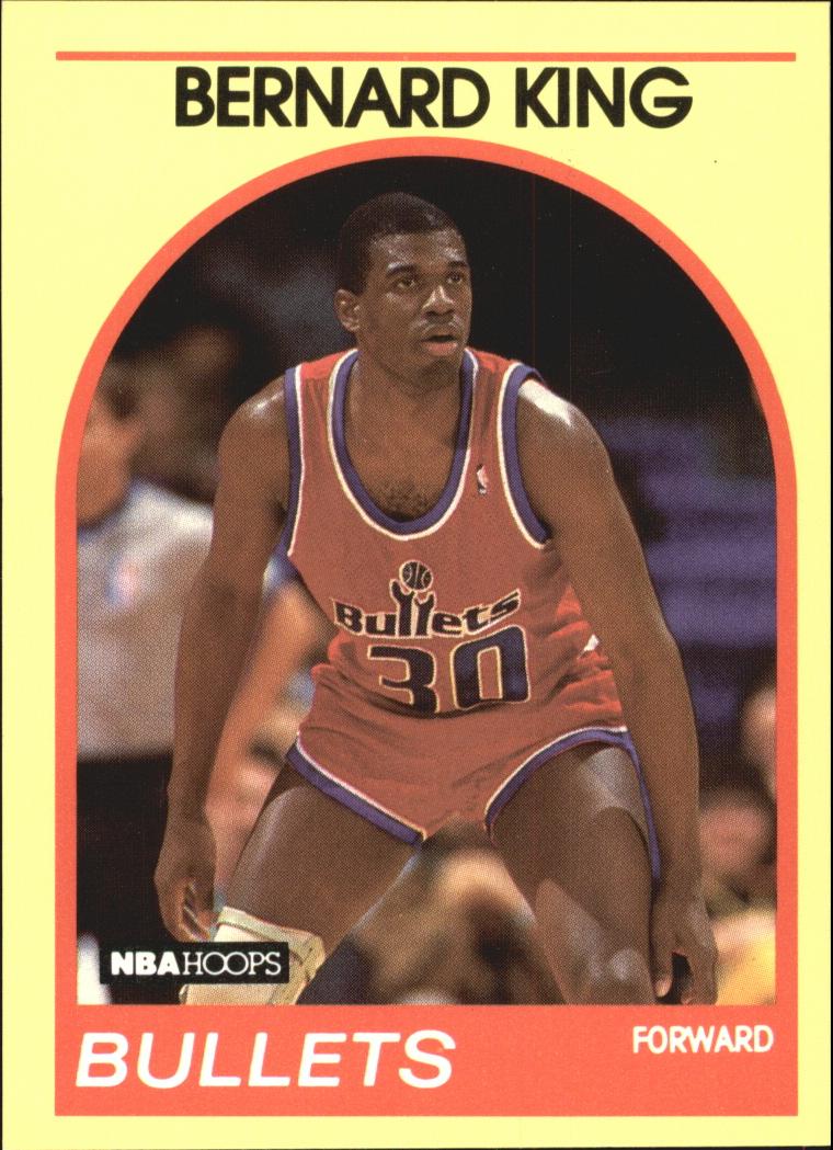 1990 Hoops 100 Superstars #99 Bernard King