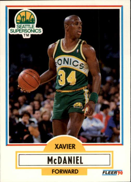 1990-91 Fleer #179 Xavier McDaniel
