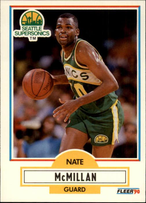 1990-91 Fleer #181 Nate McMillan