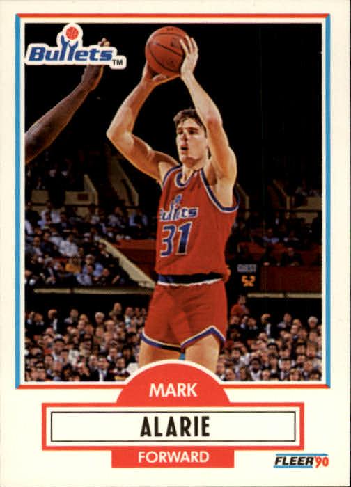 1990-91 Fleer #190 Mark Alarie