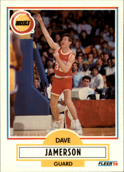 1990-91 Fleer Update #U35 Dave Jamerson RC