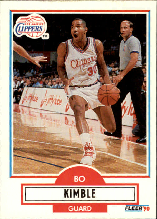 1990-91 Fleer Update #U41 Bo Kimble RC