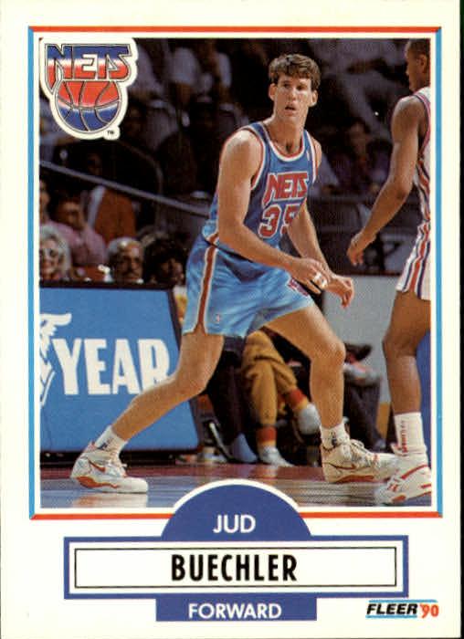 1990-91 Fleer Update #U59 Jud Buechler RC