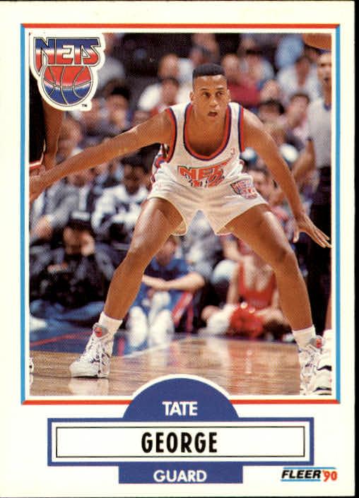 1990-91 Fleer Update #U61 Tate George RC