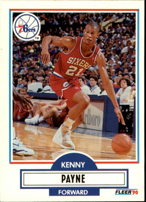 1990-91 Fleer Update #U72 Kenny Payne RC