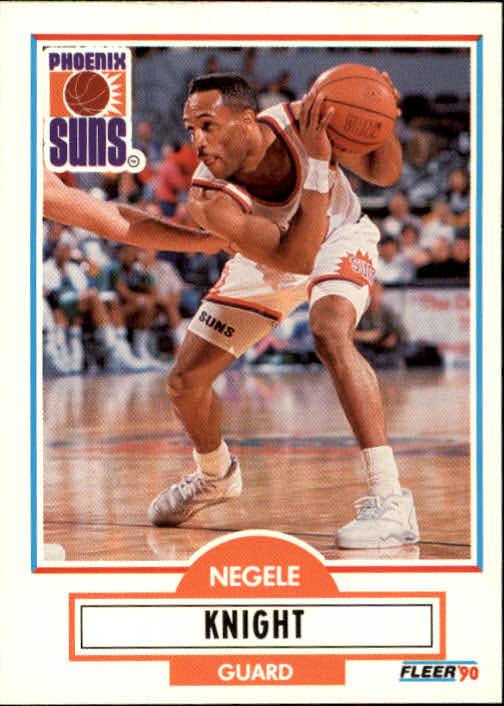 1990-91 Fleer Update #U76 Negele Knight RC