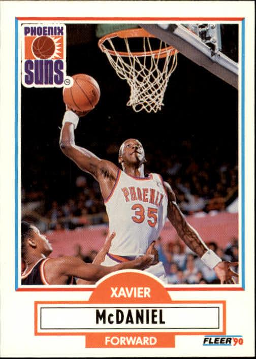 1990-91 Fleer Update #U77 Xavier McDaniel
