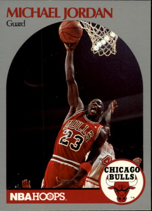 c7f0a80544e 1990-91 Hoops  65 Michael Jordan - NM-MT - Simicards