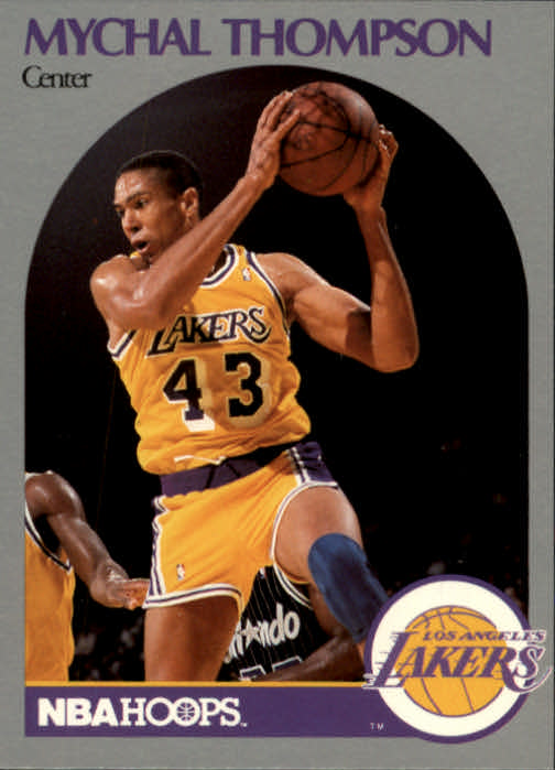 1990-91 Hoops #160 Mychal Thompson