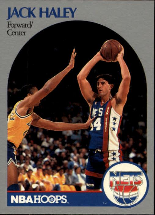 1990-91 Hoops #197 Jack Haley RC