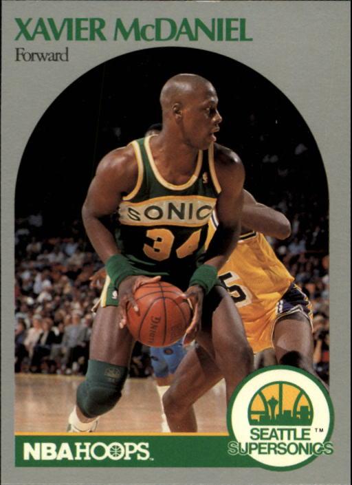 1990-91 Hoops #280 Xavier McDaniel