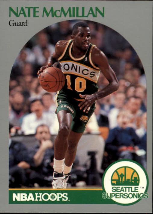 1990-91 Hoops #282 Nate McMillan