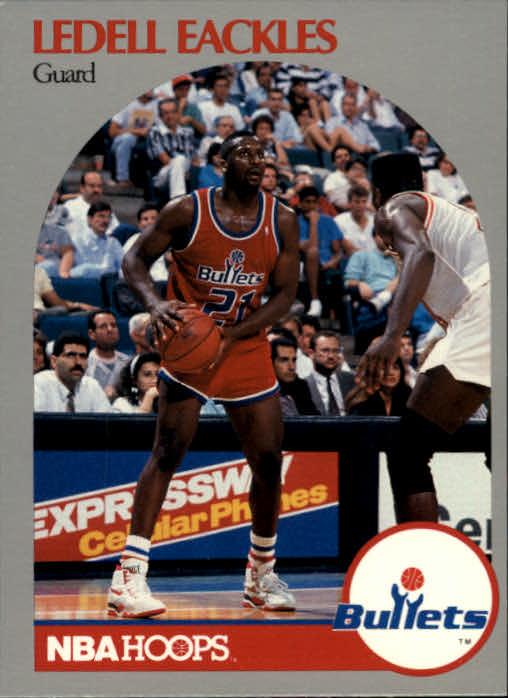 1990-91 Hoops #296 Ledell Eackles SP