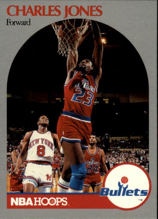 1990-91 Hoops #299 Charles Jones RC