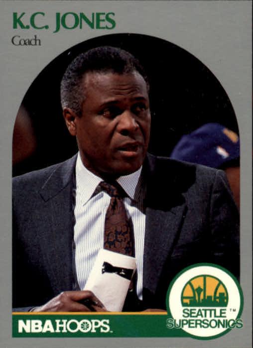 1990-91 Hoops #329 K.C. Jones CO