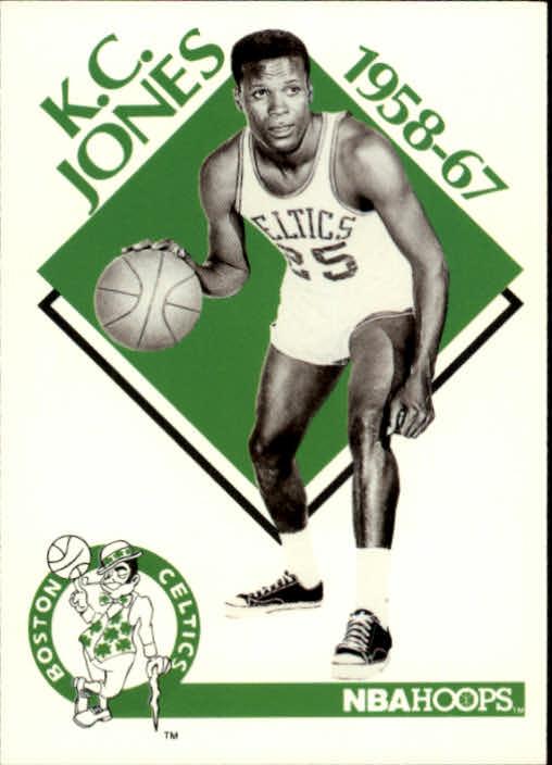 1990-91 Hoops #343 K.C. Jones CO