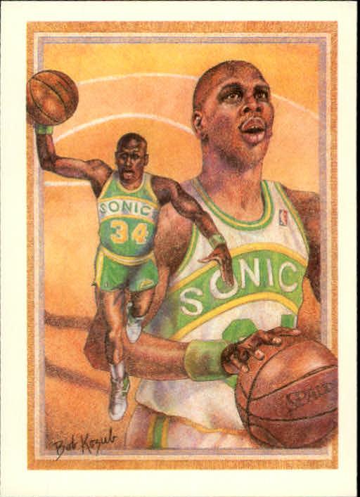1990-91 Hoops #379 Xavier McDaniel TC