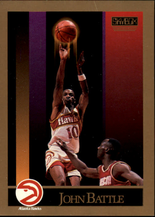 1990-91 SkyBox #1 John Battle