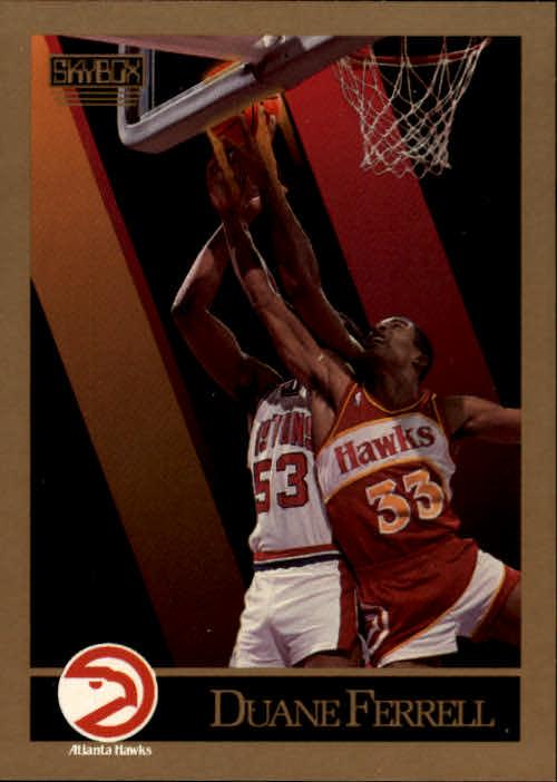 1990-91 SkyBox #2 Duane Ferrell SP RC