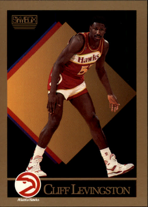 1990-91 SkyBox #4 Cliff Levingston SP