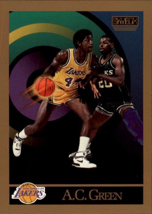 1990-91 SkyBox #137 A.C. Green