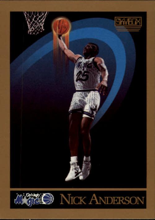 1990-91 SkyBox #199 Nick Anderson RC