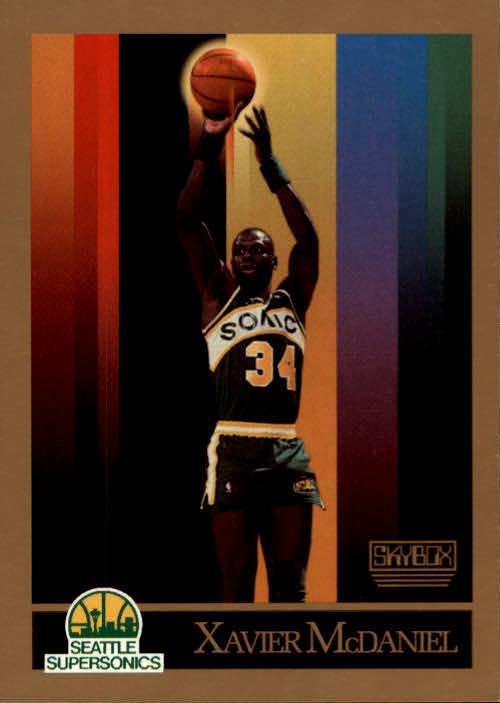 1990-91 SkyBox #269 Xavier McDaniel