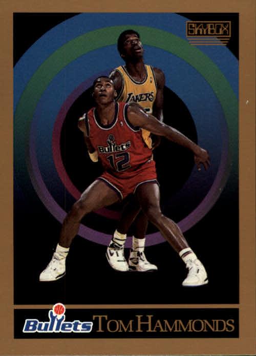 1990-91 SkyBox #289 Tom Hammonds RC
