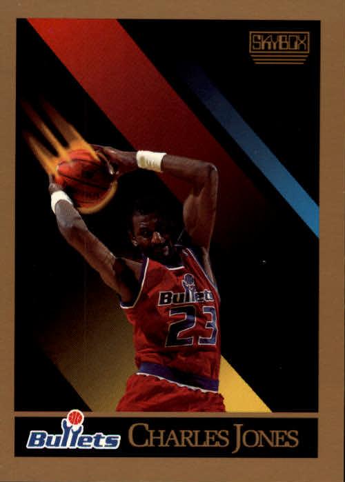1990-91 SkyBox #290 Charles Jones RC