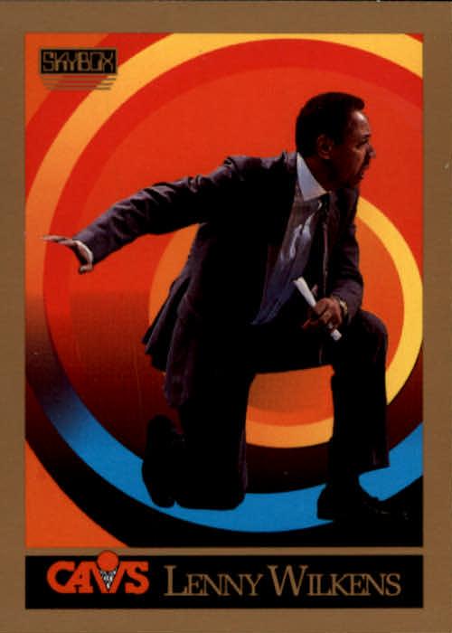 1990-91 SkyBox #305 Lenny Wilkens CO
