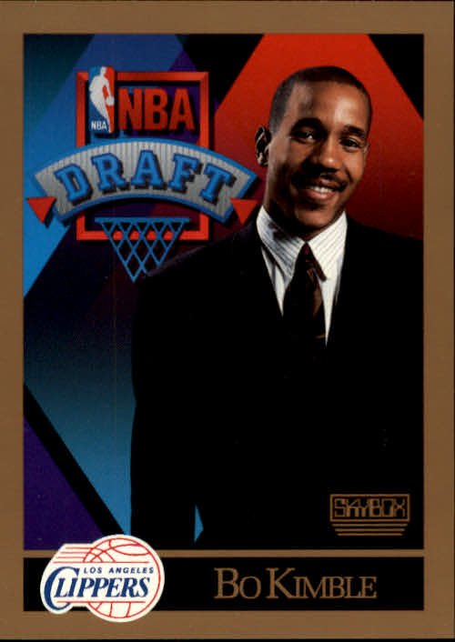 1990-91 SkyBox #359 Bo Kimble RC