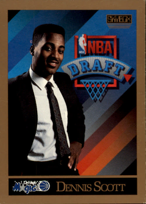 1990-91 SkyBox #363 Dennis Scott RC
