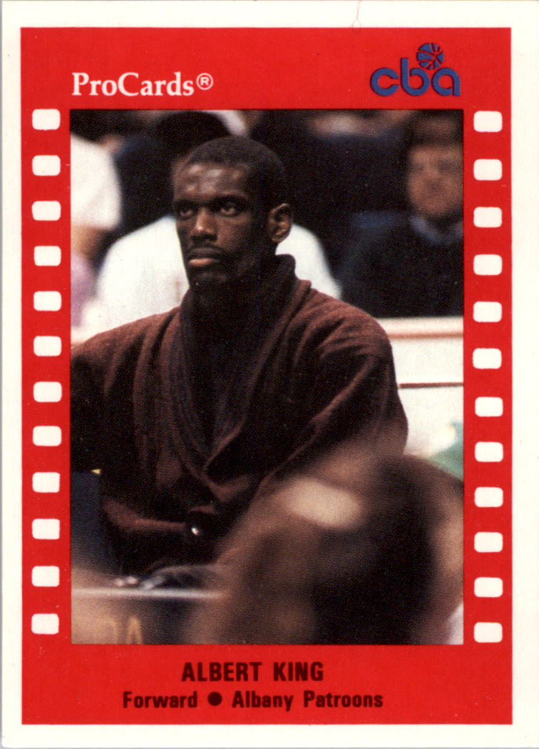 1990-91 ProCards CBA #149 Albert King