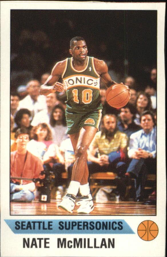 1990-91 Panini Stickers #19 Nate McMillan