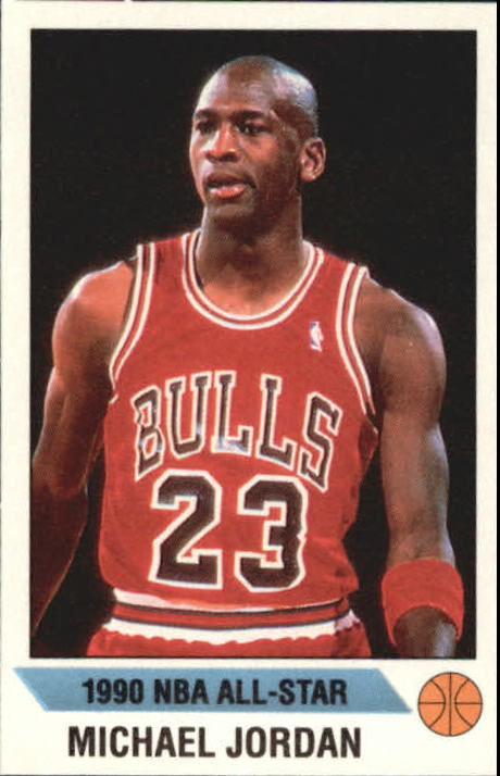 1990-91 Panini Stickers #G Michael Jordan AS