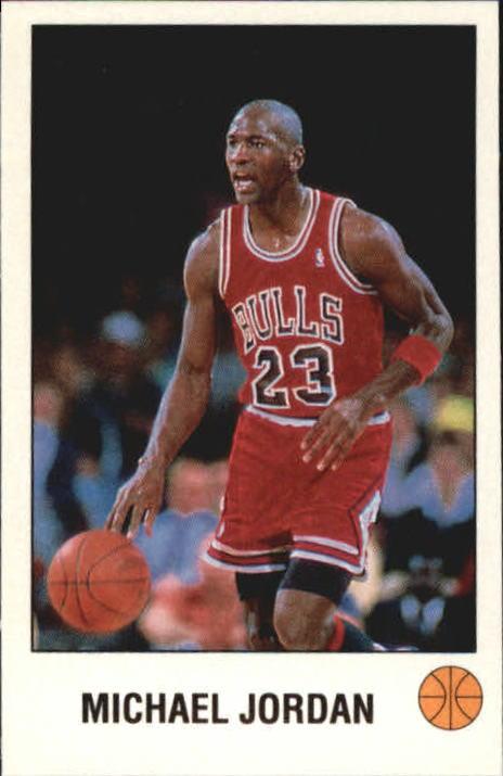 1990-91 Panini Stickers #K Michael Jordan