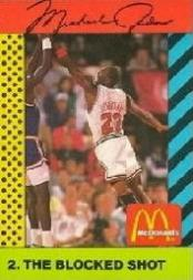 1990-91 McDonald's Jordan Joyner-Kersee #2 Michael Jordan