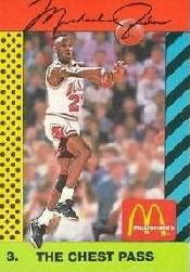 1990-91 McDonald's Jordan Joyner-Kersee #3 Michael Jordan