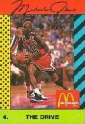 1990-91 McDonald's Jordan Joyner-Kersee #4 Michael Jordan