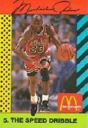 1990-91 McDonald's Jordan Joyner-Kersee #5 Michael Jordan