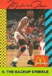 1990-91 McDonald's Jordan Joyner-Kersee #6 Michael Jordan
