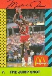 1990-91 McDonald's Jordan Joyner-Kersee #7 Michael Jordan