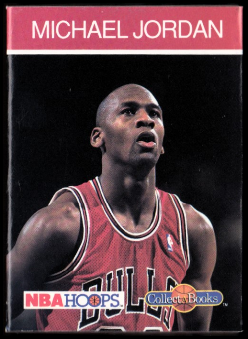 1990-91 Hoops CollectABooks #4 Michael Jordan