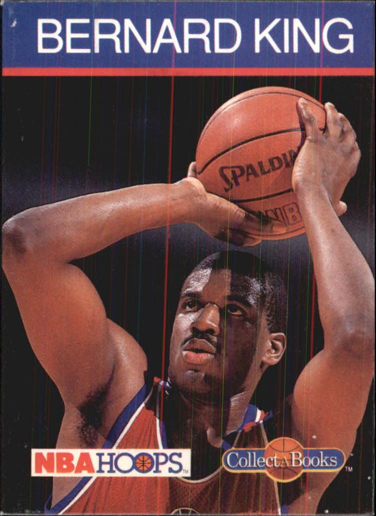 1990-91 Hoops CollectABooks #30 Bernard King