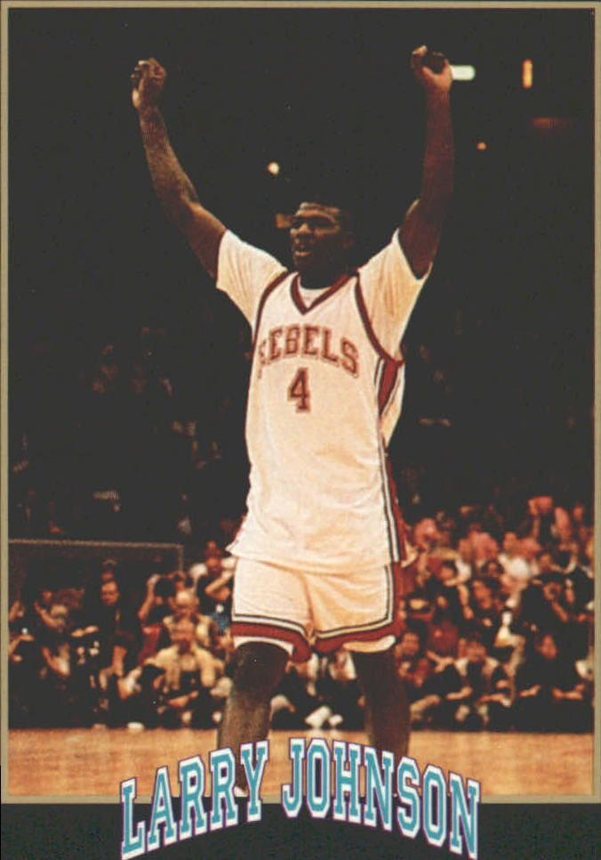 1991 Smokey's Larry Johnson #2 1989-90 Champs