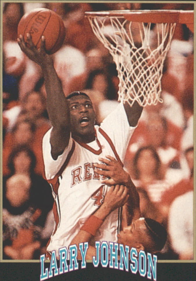 1991 Smokey's Larry Johnson #6 1990 NCAA Player
