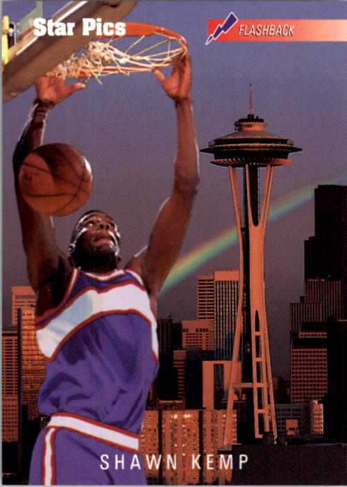 1991 Star Pics #50 Shawn Kemp FLB