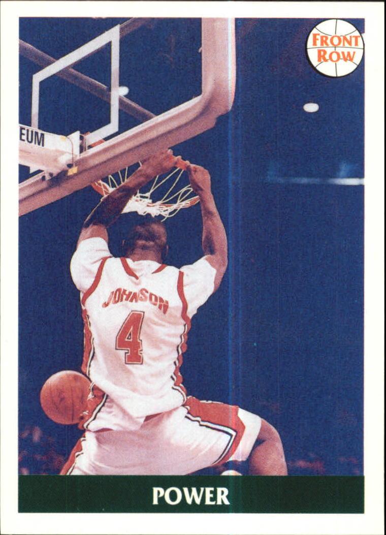 1991 Front Row #46 Larry Johnson