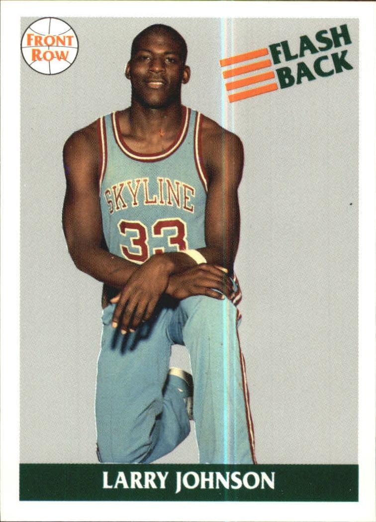 1991 Front Row #48 Larry Johnson