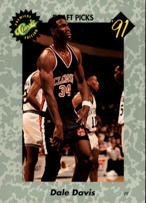 1991 Classic #8 Dale Davis